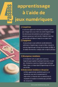 4 raisons pour un apprentissage avec des jeux numériques